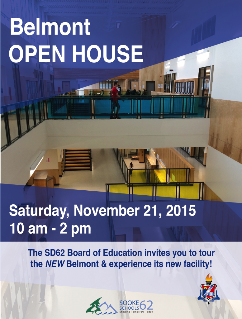 Belmont Open House Poster